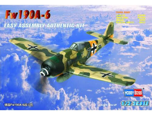 Hobby Boss Germany Fw190A-6 Fighter 1:72 (80245)