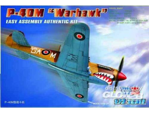 Hobby Boss P-40M ''Kitty hawk'' 1:72 (80251)