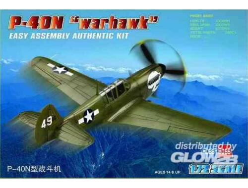 Hobby Boss P-40N ''Kitty hawk'' 1:72 (80252)