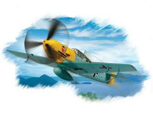 Hobby Boss Bf109E-3 Fighter 1:72 (80253)