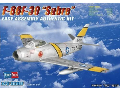 Hobby Boss F-86F-30 'Sabre' Fighter 1:72 (80258)