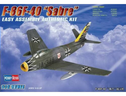 Hobby Boss F-86F-40 'Sabre' Fighter 1:72 (80259)