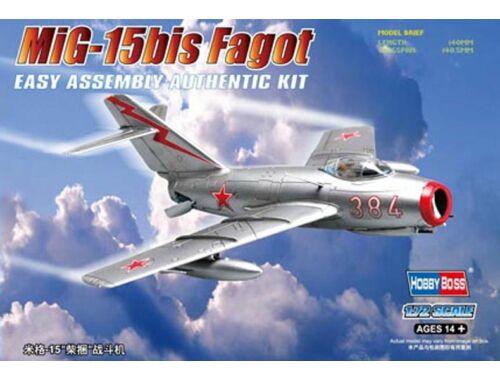 Hobby Boss MiG-15bis Fagot 1:72 (80263)