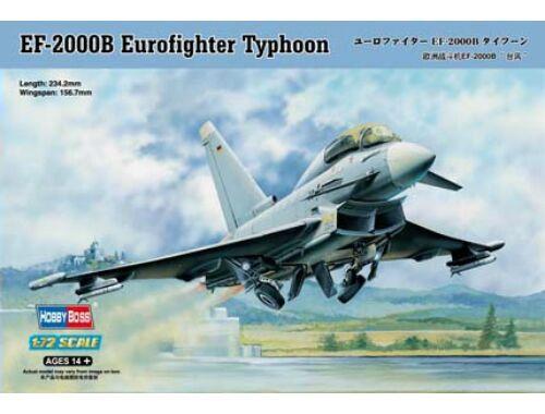 Hobby Boss EF-2000B Eurofighter Typhoon 1:72 (80265)