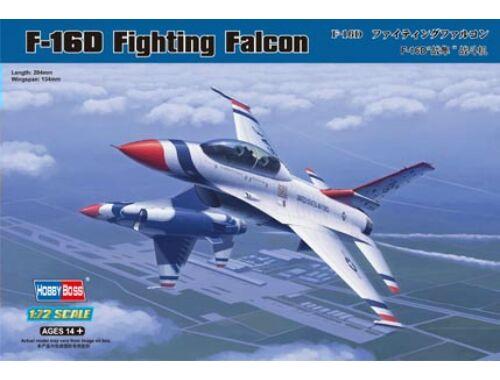 Hobby Boss F-16D Fighting Falcon 1:72 (80275)