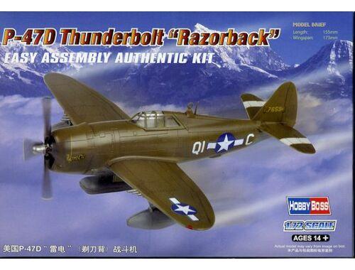 Hobby Boss P-47D Thunderbolt Razorback 1:72 (80283)