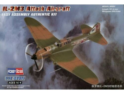 Hobby Boss IL-2M3 Attack Aircraft 1:72 (80285)