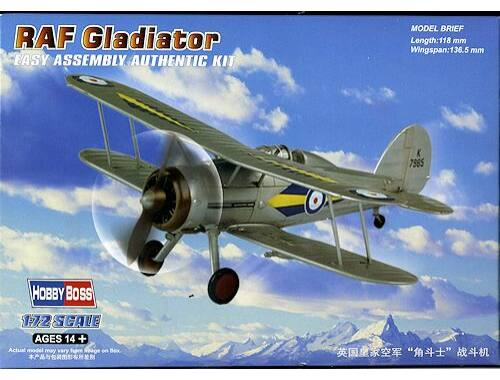 Hobby Boss RAF Gladiator 1:72 (80289)