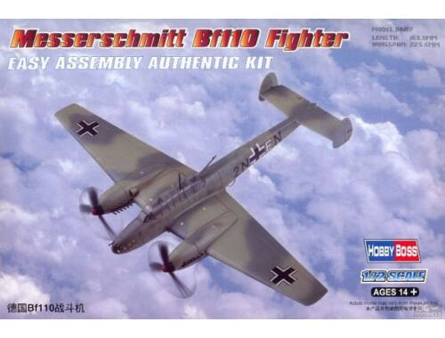 Hobby Boss Messerschmitt Bf110 Fighter 1:72 (80292)