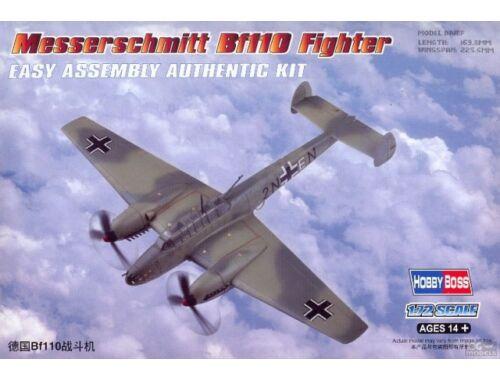Hobby Boss Messerschmitt Bf110 Fighter 1:72 (80292)