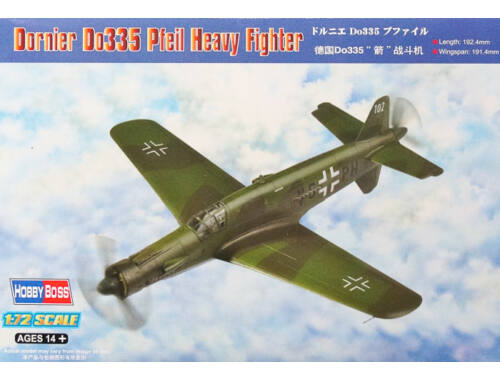 Hobby Boss Dornier Do335 Pfeil Heavy Fighter 1:72 (80293)
