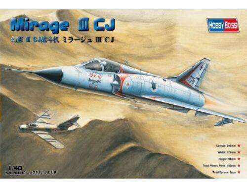 Hobby Boss Mirage IIICJ Fighter 1:48 (80316)