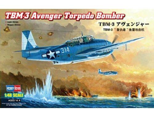 Hobby Boss TBM-3 Avenger Torpedo Bomber 1:48 (80325)