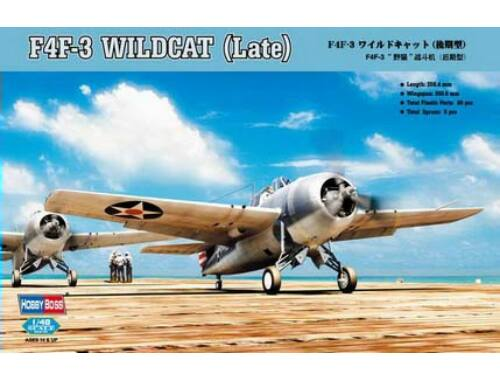 Hobby Boss F4F-3 Wildcat Late Version 1:48 (80327)