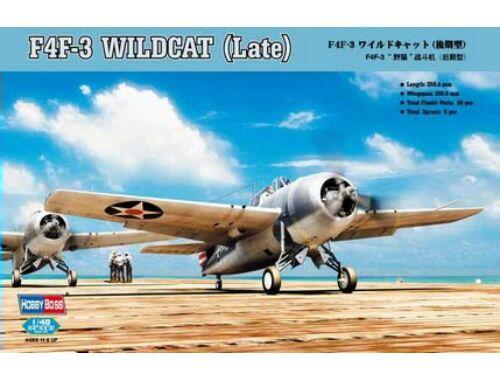 Hobby Boss F4F-3 Wildcat Late Version 1:48 (80327)