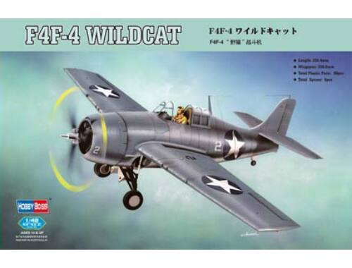 Hobby Boss F4F-4 Wildcat Fighter 1:48 (80328)