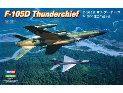 Hobby Boss Republic F-105D Thunderchief 1:48 (80332)