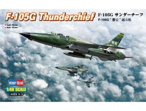 Hobby Boss F-105G Thunderchief 1:48 (80333)