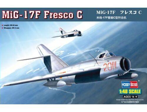 Hobby Boss MiG-17F Fresco C 1:48 (80334)