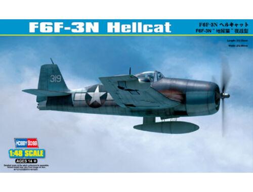 Hobby Boss F6F-3N Hellcat 1:48 (80340)