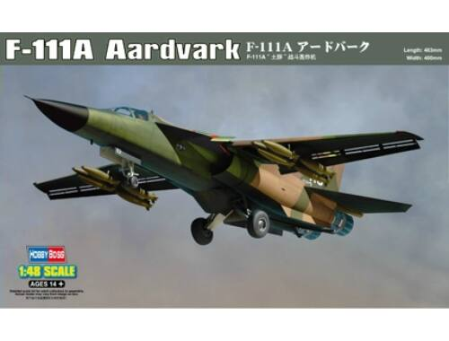 Hobby Boss F-111A Aardvark 1:48 (80348)
