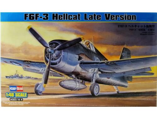 Hobby Boss F6F-3 Hellcat Late Version 1:48 (80359)