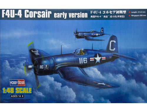 Hobby Boss F4U-4 Corsair early version 1:48 (80386)