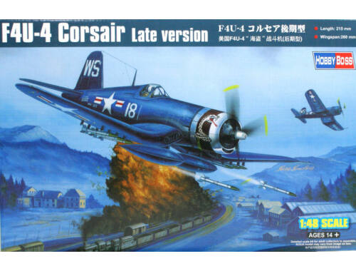 Hobby Boss F4U-4 Corsair Late version 1:48 (80387)