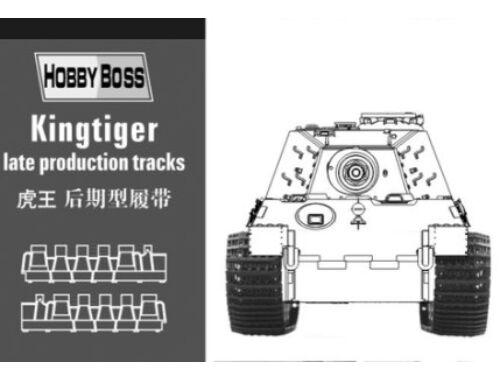 Hobby Boss Kingtiger late production tracks 1:35 (81002)