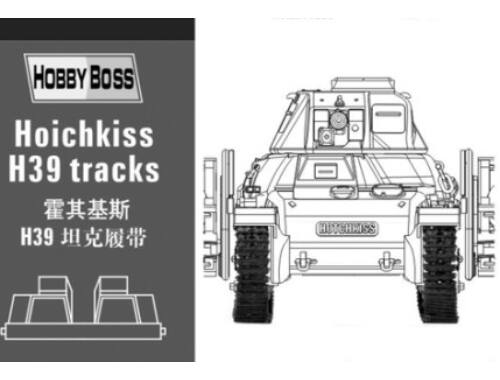 Hobby Boss Hotchkiss H39 tank tracks 1:35 (81003)