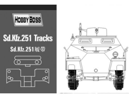 Hobby Boss Sd.Kfz 251 tracks 1:35 (81005)