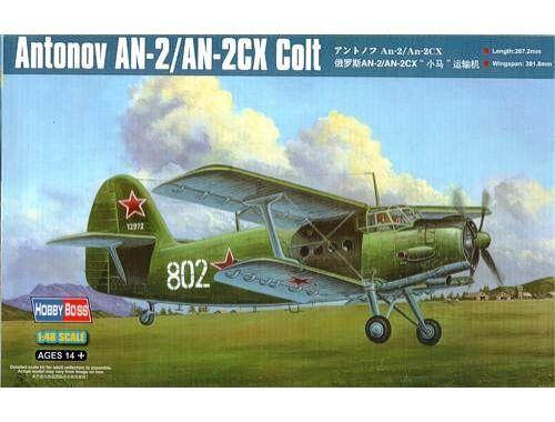 Hobby Boss Antonov AN-2/AN-2CX Colt 1:48 (81705)