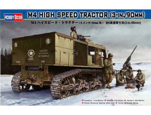 Hobby Boss M4 HIGH SPEED TRACTOR(3-in./90mm) 1:35 (82407)