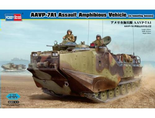 Hobby Boss AAVP-7A1 Assault Amphibious Vehicle (w/mounting bosses) 1:35 (82413)