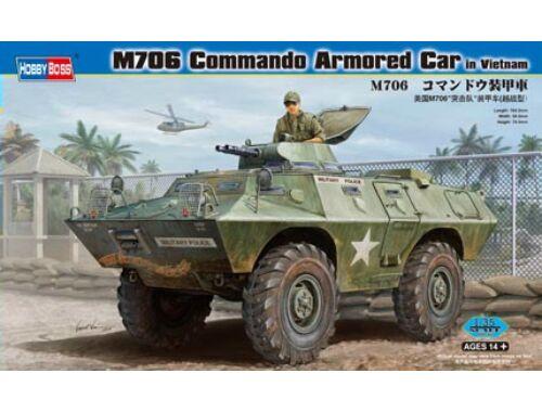 Hobby Boss M706 Commando Armored Car in Vietnam 1:35 (82418)