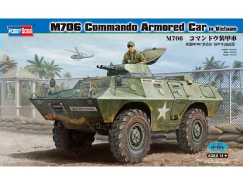 Hobby Boss M706 Commando Armored Car in Vietnam 1:35 (82418)