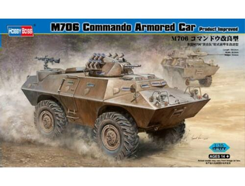 Hobby Boss M706 Commando Armored Car Product Improved 1:35 (82419)