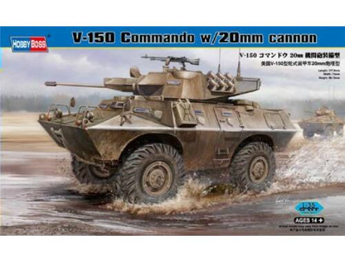 Hobby Boss V-150 Commando w/20mm cannon 1:35 (82420)