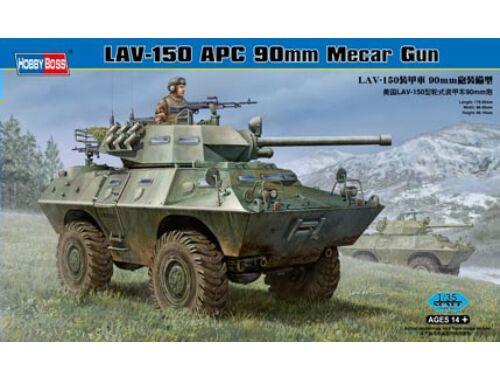 Hobby Boss LAV-150 APC 90mm Mecar Gun 1:35 (82421)