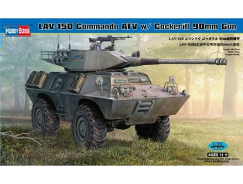 Hobby Boss LAV-150 Commando AFV Cockerill 90mm Gun 1:35 (82422)