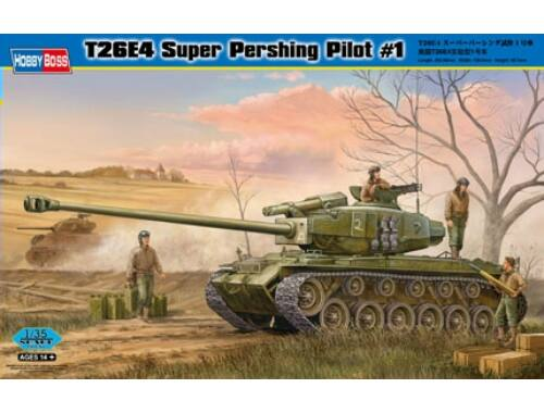 Hobby Boss T26E4 Super Pershing, Pilot No.1 1:35 (82426)