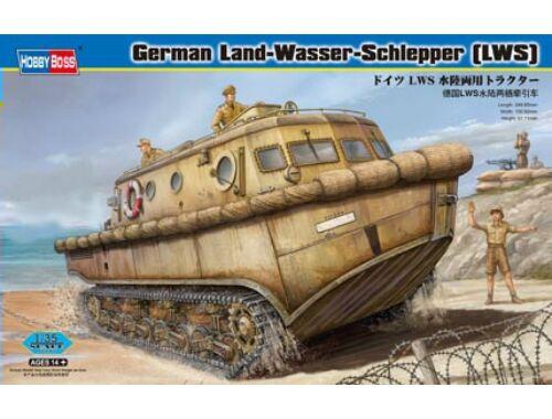 Hobby Boss Deutscher Land-Wasser-Schlepper frühe Produktion 1:35 (82430)