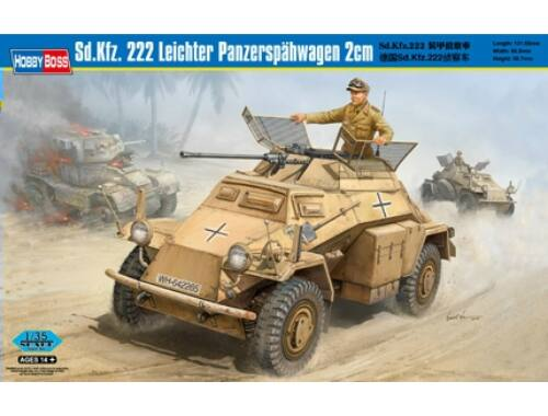 Hobby Boss Sd.Kfz. 222 Leichter Panzerspahwagen 2cm 1:35 (82442)