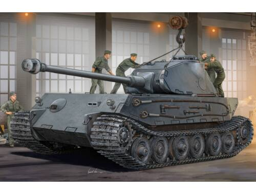 Hobby Boss German VK4502 (P) Hinten 1:35 (82445)
