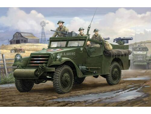 Hobby Boss M3A1 Scout Car 'White' Early Version 1:35 (82451)