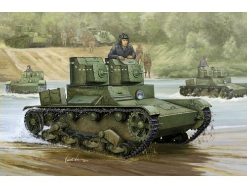 Hobby Boss Soviet T-26 Light Infantry Tank Mod 1931 1:35 (82494)