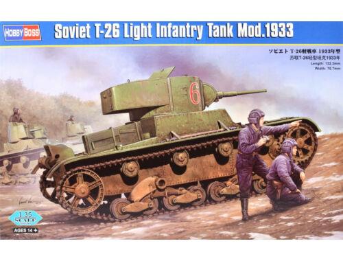 Hobby Boss Soviet T-26 Light Infantry Tank Mod.1933 1:35 (82495)