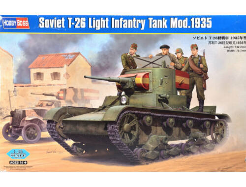 Hobby Boss Soviet T-26 Light Infantry Tank Mod.1935 1:35 (82496)