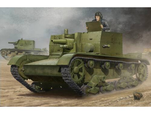 Hobby Boss Soviet AT-1 Self-Propelled Gun 1:35 (82499)