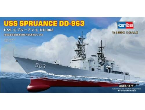 Hobby Boss USS Spruance DD-963 1:1250 (82504)